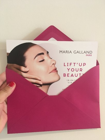 Invitation Maria Galland